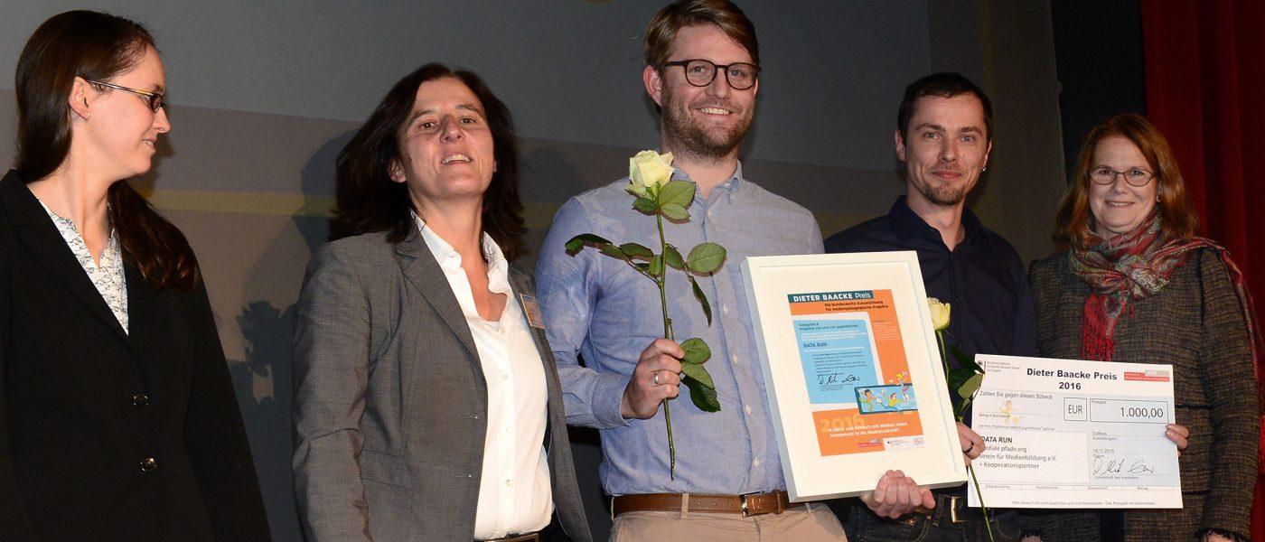 Dieter Baacke Preis für DATA RUN